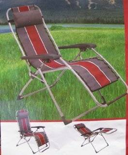 Anti Gravity Reclining Lounge Chair Red Stripe Explore