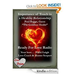 Importance of Touch in a Healthy Relationship (Ready for Love Radio