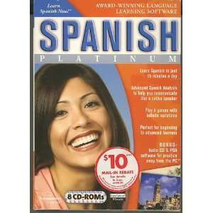 Spanish Platinum Award winning Language Learning Software