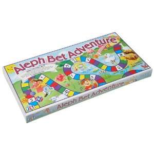 Aleph Bet Adventure Board Game Toys & Games