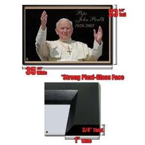 Framed Pope John Paul Ii 1920 2005Poster Fr101128