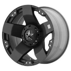 20x8.5 KMC XD Rockstar (Matte Black) Wheels/Rims 5x114.3