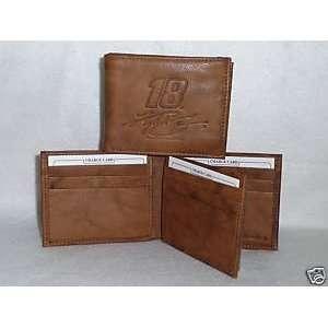 Kyle Busch #18 NASCAR Leather BiFold Wallet NEW br3