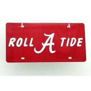 Roll Tide  Alabama License Plate Automotive