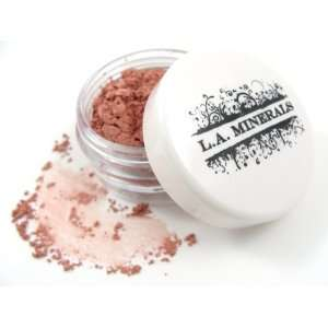 L.A. Minerals Matte Mineral Pink Eye Shadow   Kitten Beauty