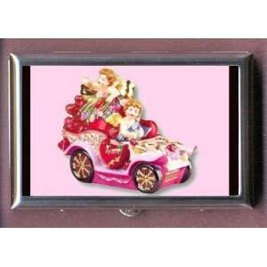 VALENTINES DAY BOY GIRL CAR Coin, Mint or Pill Box Made