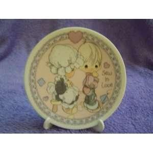 Precious Moments Sew in Love Mini Collectible Plate