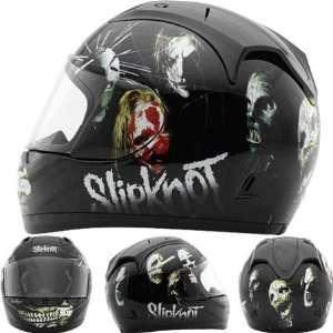 Rockhard Slipknot NINE Full Face Helmet Medium  Off White
