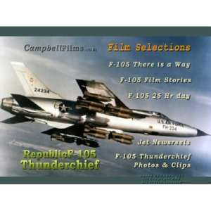 Republic F 105 Thunderchief Fighter Bomber Jet USAF Air