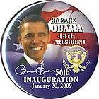 2008 INAUGURATION 44TH PRESIDENT BARACK OBAMA GUARDFROG PIN BUTTON 194