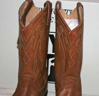 MENS~FRYE WESTERN COWBOY BOOT~BILLY PULL ON~US 11~SADDLE~NEW IN BOX