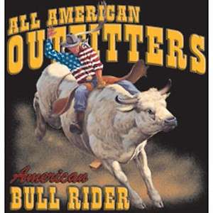 Rodeo Western  AMERICAN BULL RIDER