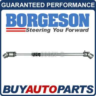 NEW GENUINE BORGESON STEERING SHAFT FOR JEEP CJ 1976 1986 000920