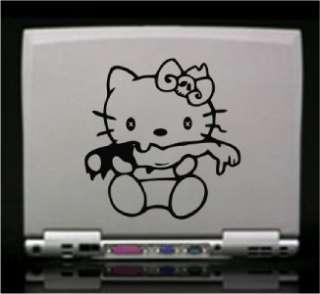 Hello Kitty Zombie Die Cut Vinyl Decal Sticker 5.5