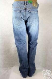 POLO RALPH LAUREN Slim Straight 018 Light Blue Denim Mens Pants New