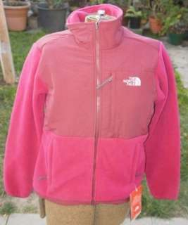 North Face WOMENS SMALL Denali Fleece JACKET LOGANBERRY Red NWT