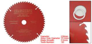 60T 9 Inch Diameter Circular Woodworking TCT Saw Blade
