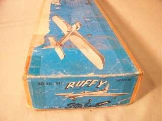 15, 50 WS Control Line Stunt Balsa Model Airplane Vintage