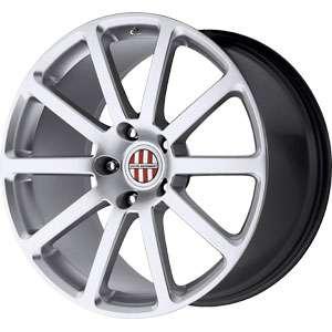 New 20X10 5 130 Victor Equipment Zehn Hyper Silver Wheels/Rims