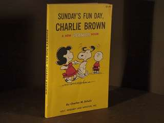 Sundays Fun Day CHARLIE BROWN A New Peanuts Book CHARLES SCHULZ First