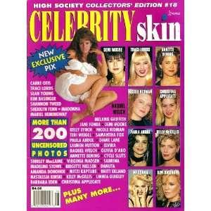 Celebrity Skin #18 Madonna, Chistina Applegate, Kim Basinger, Traci