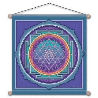 15 X 15 Sri Yantra Mandala Meditation Banner: Everything