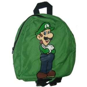 Nintendo Super Mario Bros. Luigi Mini Backpack Bag 54326 Toys & Games