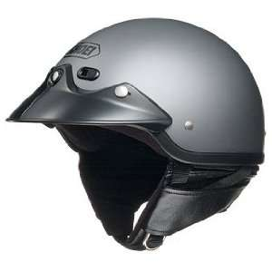 Open Face Motorcycle Helmet Matte Deep Grey XXL 2XL 03 562 Automotive