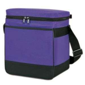 Deluxe 12 Pack Cooler, front full length sleeve pocket