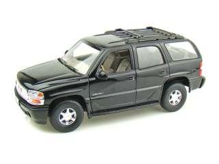 Welly 1/18 GMC Yukon Denali SUV   Blank Black   Police SWAT CSI