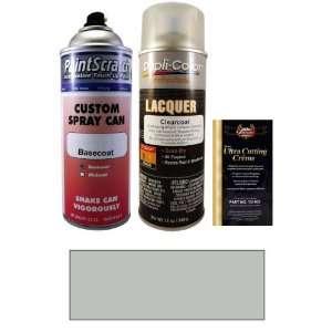 12.5 Oz. Silky Silver Metallic Spray Can Paint Kit for 2001 Suzuki
