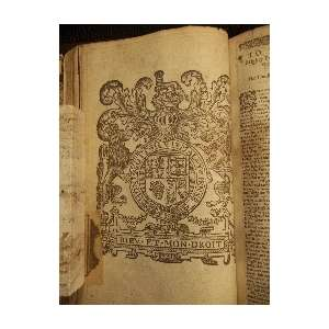 1634 KING JAMES ANTIQUE RARE FINE LEATHER FAMILY DISPLAY HOLY BIBLE