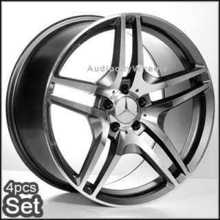 19inch Mercedes Benz Wheels Rims E C CLK SLK SEL