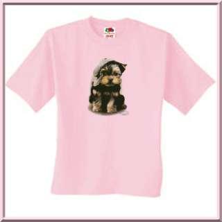 Lil Rascal Yorkshire Terrier Dog Shirts S 2X,3X,4X,5X