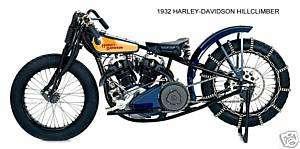 1932 HARLEY DAVIDSON ~ HILLCLIMBER MOTORCYCLE ~ MAGNET
