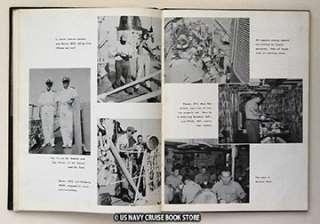 USS DEALEY DE 1006 MEDITERRANEAN CRUISE BOOK 1957 1958