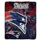 New England Patriots NFL Imprint Series 50 x 60 Micro Raschel Throw