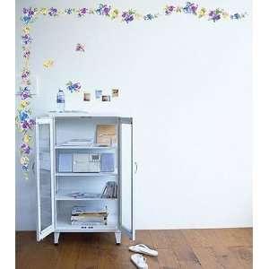 FLOWER DECOR MURAL ART WALL PAPER STICKER WST 14