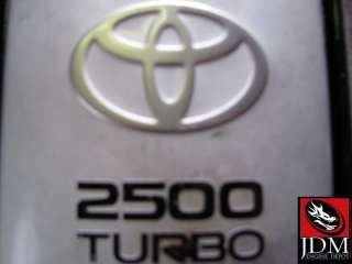 YOU WILL RECEIVE A JDM TOYOTA CHASER 1JZ GTE 2.5L VVTI TURBO
