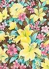kings road melody lilly pink brown quilt fabric m709 2 $ 6 99 time