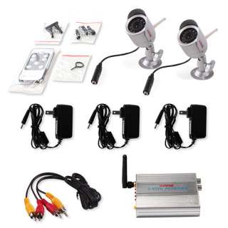 Audio Security Camera System 8M IR 100M 2.4GHz Transmission