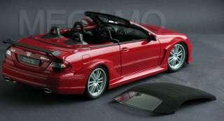 18 Kyosho Mercedes Benz CLK DTM AMG Cabriolet Red