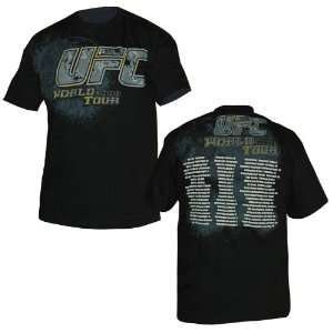 UFC 2008 World Tour T Shirt