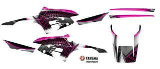 Yamaha Warrior 350 ATV Graphics Decal Kit #7777Pink