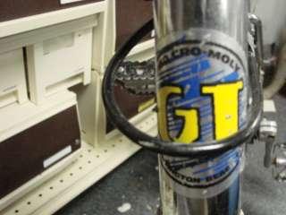 1993 GT Crown Pro Series 20 BMX Bike Bicycle Four Bolt Gooseneck+Pad