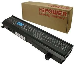 Hipower 6 Cell Laptop Battery For Toshiba Satellite A80, A80 S178TD