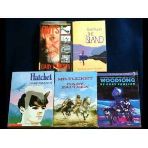 Hatchet, The Island, Mr. Tucket, Woodsong, Guts): Gary Paulsen: Books