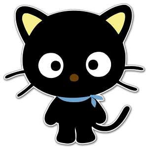 Hello Kitty Chococat sticker decal 4 x 4