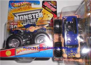 2012 Hot Wheels Monster Jam SAMSON 1ST EDITION TRUCK TOPPS Trading