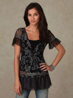 New Free People Day Dream Lace Tunic/XS/$128